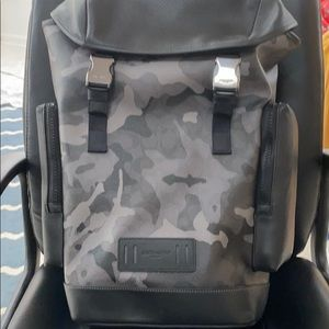 Coach Ranger Backpack with Camo Print